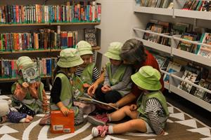 Book time at the Gonville Library