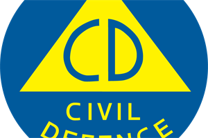 Civil Defence CD logo