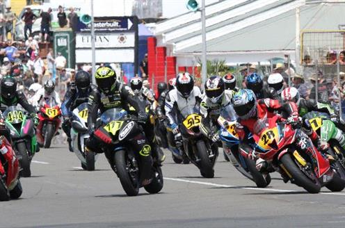 Cemetery Circuit motorcycle races