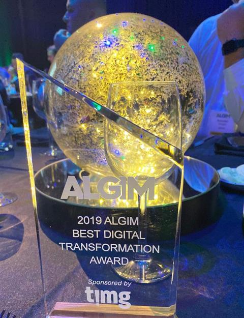 ALGIM Digital Transformation Award 2019